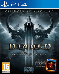 Game Diablo III: Reaper of Souls - Ultimate Evil Edition (PS4) cover