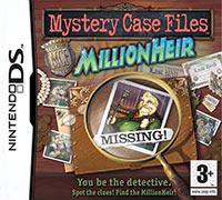 Okładka Mystery Case Files: MillionHeir (NDS)