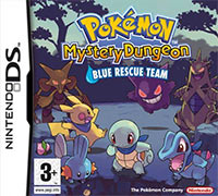 Game Box for Pokemon Mystery Dungeon: Blue Rescue Team (NDS)