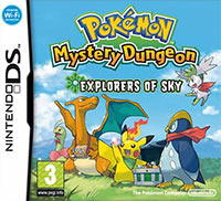 Game Box for Pokemon Mystery Dungeon: Explorers of Sky (NDS)