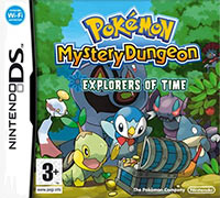 Game Box for Pokemon Mystery Dungeon: Explorers of Time (NDS)