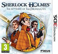 Okładka Sherlock Holmes and the Mystery of the Frozen City (3DS)