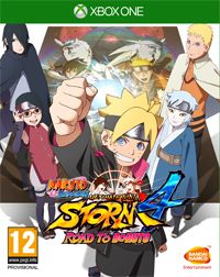 Game Naruto Shippuden: Ultimate Ninja Storm 4 - Road to Boruto (PC) cover