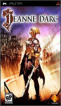 Okładka Jeanne d'Arc (PSP)