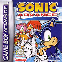 Game Box for Sonic Advance (GBA)