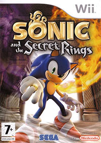 Game Box for Sonic and the Secret Rings (Wii)