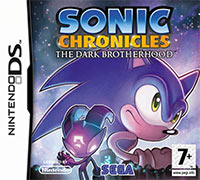 Okładka Sonic Chronicles: The Dark Brotherhood (NDS)