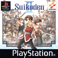 Game Box for Suikoden II (PS1)