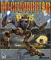 Okładka MechWarrior 4: Vengeance (PC)