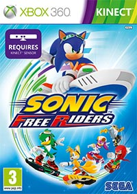 Game Box for Sonic Free Riders (X360)