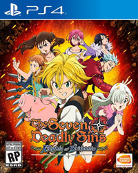 Game Box for The Seven Deadly Sins: Knights of Britannia (PS4)