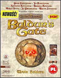 Okładka Baldur's Gate (PC)