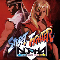 Okładka Street Fighter Alpha (PS1)