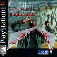 Clock Tower (PS1 cover