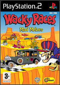 Okładka Wacky Races: Mad Motors (PS2)