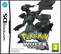 Okładka Pokemon White (NDS)