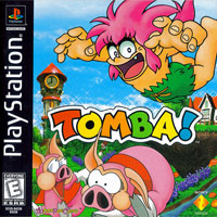 Game Box for Tombi! (PS1)