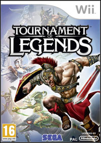 Game Box for Tournament of Legends (Wii)