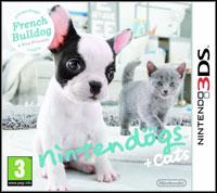 Okładka Nintendogs + Cats: French Bulldog & New Friends (3DS)