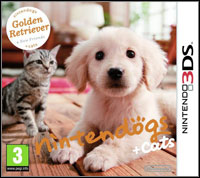 Okładka Nintendogs + Cats: Golden Retriever & New Friends (3DS)