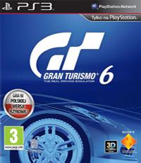 Okładka Gran Turismo 6 (PS3)