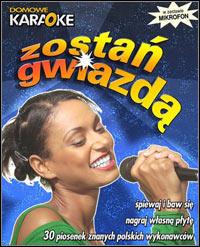 Okładka Domowe Karaoke: Zostan gwiazda (PC)