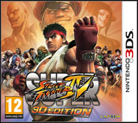 Game Box for Super Street Fighter IV 3DS (3DS)
