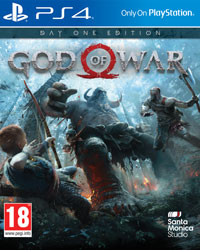 Game God of War (PS4) cover