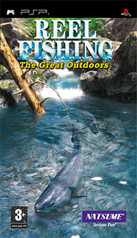 Game Box for Reel Fishing: The Great Outdoors (PSP)