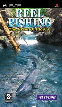 Okładka Reel Fishing: The Great Outdoors (PSP)