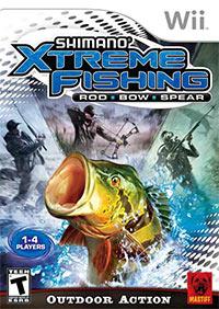 Okładka Shimano Xtreme Fishing (Wii)