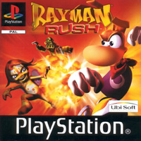 Game Box for Rayman Rush (PS1)