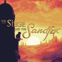 Game Box for The Siege and the Sandfox (PC)