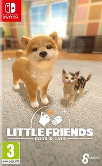 Okładka Little Friends: Dogs & Cats (Switch)