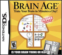 Game Box for Brain Age: Train Your Brain in Minutes a Day (NDS)