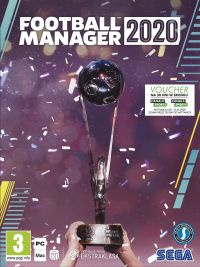 Game Box for Football Manager 2020 (PC)