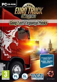 Okładka Euro Truck Simulator 2: Going East! (PC)