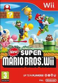 Game New Super Mario Bros. Wii (Wii) cover