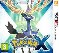 Okładka Pokemon X (3DS)