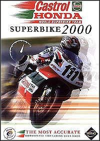 Okładka Castrol Honda Superbike 2000 (PC)