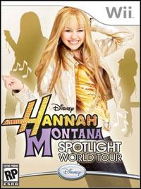 Okładka Hannah Montana: Spotlight World Tour (Wii)