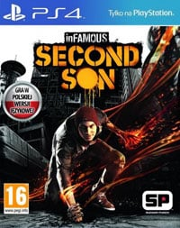 Okładka inFamous: Second Son (PS4)