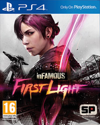 Okładka inFamous: First Light (PS4)