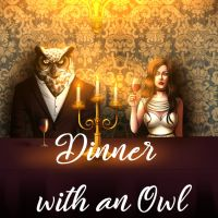 Dinner with an Owl (PC cover
