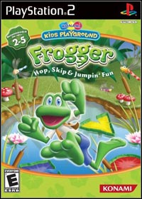 Okładka Konami Kids Playground: Frogger Hop, Skip & Jumpin' Fun (PS2)