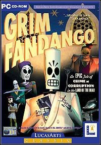 Game Box for Grim Fandango (1998) (PC)