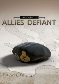 Game Box for Order of Battle: Allies Defiant (PC)