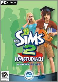 Okładka The Sims 2: University (PC)