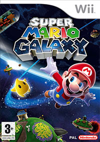 Okładka Super Mario Galaxy (Wii)
