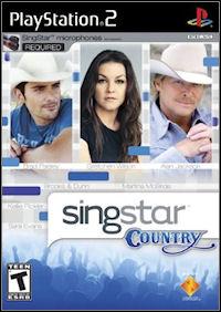 Okładka SingStar Country (PS2)